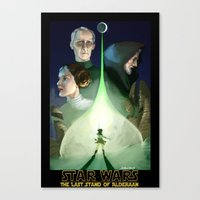 The Last Stand of Alderaan Canvas Print