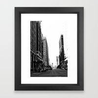 Downtown Tulsa  Framed Art Print