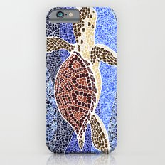 sea turtle: unity through collage iPhone 6 Slim Case