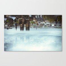 Edinburgh inverted Canvas Print