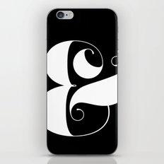 Inverse Ampersand iPhone & iPod Skin