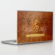 Laptop & iPad Skin featuring Music, Clef by Nicky2342