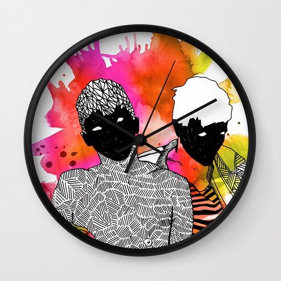 Young Liars 4 Wall Clock