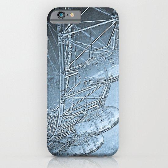 Embossed London Eye iPhone & iPod Case