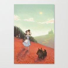 The Poppyfield Canvas Print