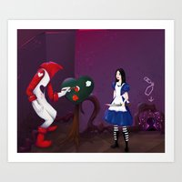 Alice: Madness Returns Art Print