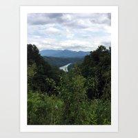 Great Smokey Mountains N… Art Print