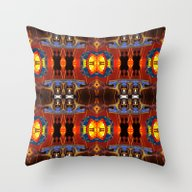 Throw Pillow featuring Symmetreats - Stand Toge… by Symmetreats