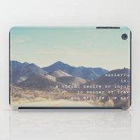 wanderlust ... iPad Case