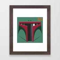 Boba Fett - Starwars Framed Art Print