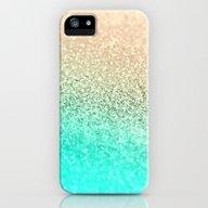 GOLD AQUA iPhone (5, 5s) Slim Case