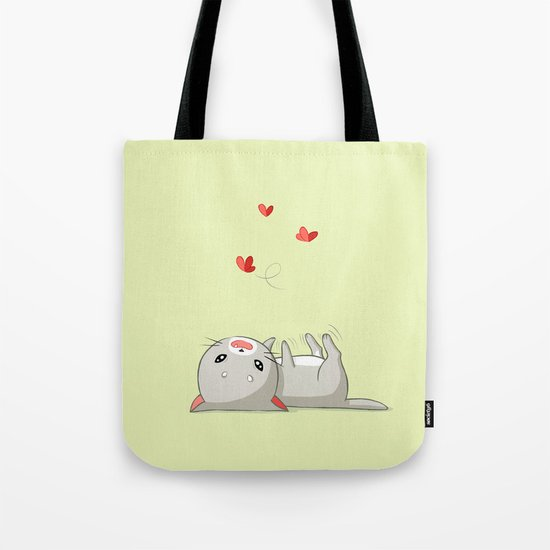 Playing Kitten Tote Bag