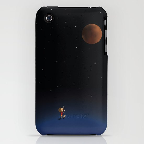 The Red Moon iPhone & iPod Case