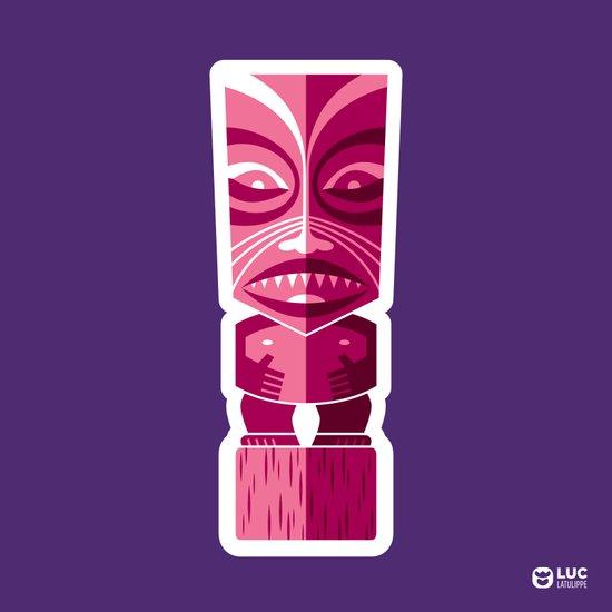 Tiki Idol Art Print