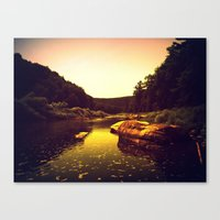 Let The Creek Take You A… Canvas Print