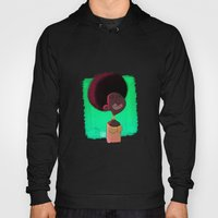 Black Woman Hoody