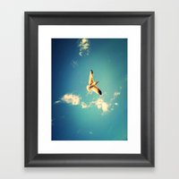 Soaring Framed Art Print