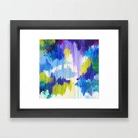 WINTER DREAMING - Jewel … Framed Art Print