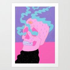Burning On The Inside Art Print
