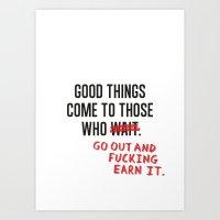 Good Things Art Print