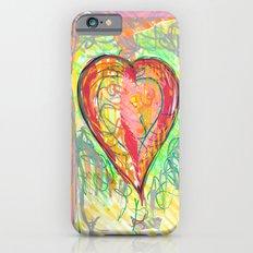 torn heart iPhone 6 Slim Case