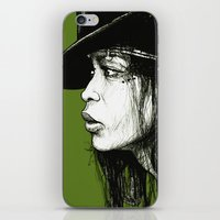 Erykah Badu iPhone & iPod Skin