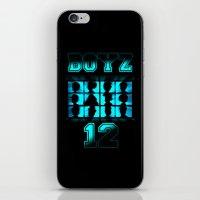 BOYZ 12 iPhone & iPod Skin