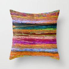 Indian Colors Throw Pillow