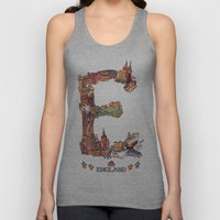 E is for England Unisex Tank Top
