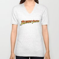 Illinois Smith Unisex V-Neck