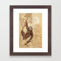 SlothWars Framed Art Print