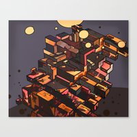 Locals Only - The Bronx,… Canvas Print