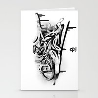 3D graffiti - dream Stationery Cards