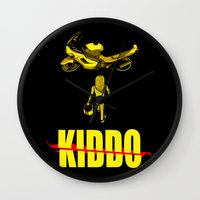 Kiddo Wall Clock