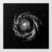 Dark Spiral Canvas Print