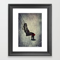 The Swing (I Have A Bird… Framed Art Print