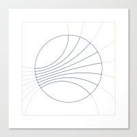 #300 Gravity Field – G… Canvas Print