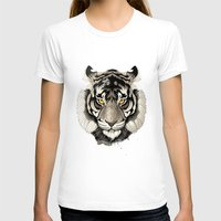 tiger T-shirts featuring Tiger by Rafapasta