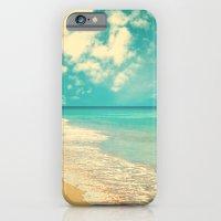Waves Of The Sea (retro … iPhone 6 Slim Case