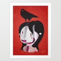 Shattered Mind Art Print