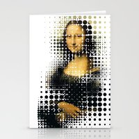 Modern Mona Stationery Cards