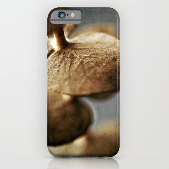 Gold Leaves iPhone & iPod Case