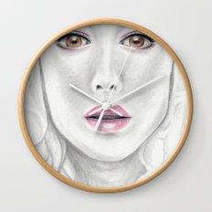 Porcelain Beauty Wall Clock