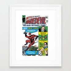 Netflix Presents Daredevil Framed Art Print