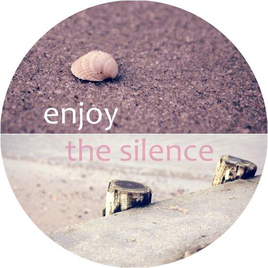 Enjoy The Silence! Canvas Print