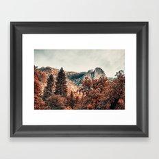 Yosemite Fall Colors Framed Art Print