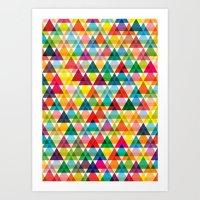 Tryangl Art Print