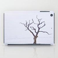 Tree in the Mist iPad Case