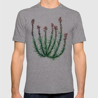Heller's Blazing Star Mens Fitted Tee Athletic Grey SMALL