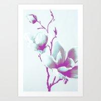 Magnolia Art Art Print